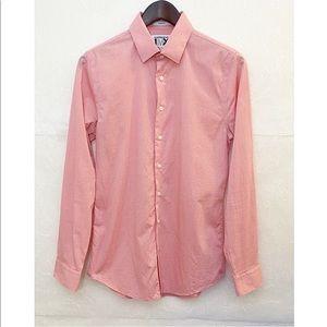 Express Men Pink 1MX Slim Fit Button Down Shirt
